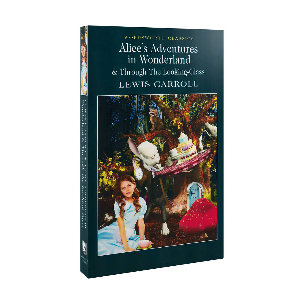 Lewis Carroll - Alice's Adventures in Wonderland and Through the Looking-Glass - książka w języku angielskim