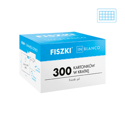 Fiszki in blanco - 300