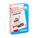 Polish PHRASE BOOK and playing cards 2in1 (ROZMÓWKI polskie i karty do gry 2w1)