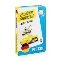 Rozmówki niemieckie i karty do gry 2w1