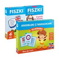 Zestaw fiszek - Angielski dla dzieci